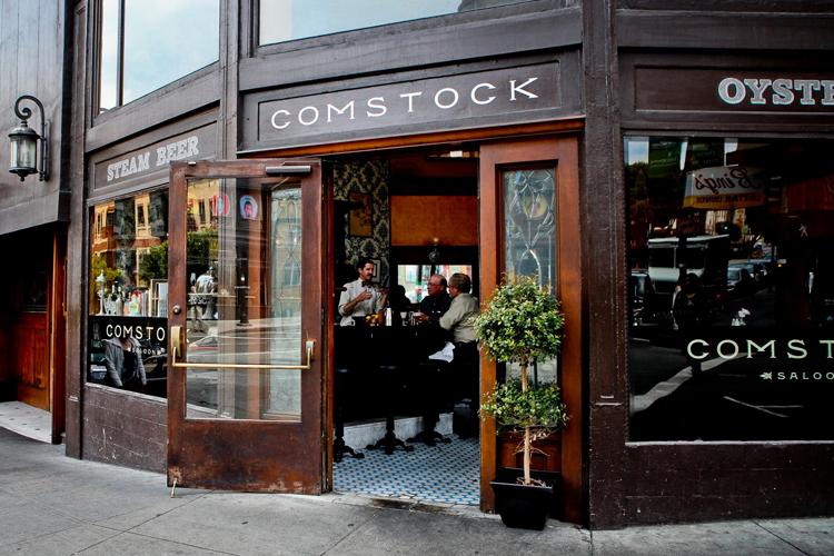 Comstock Saloon Jazz clubs bars restaurants in San Francisco live music