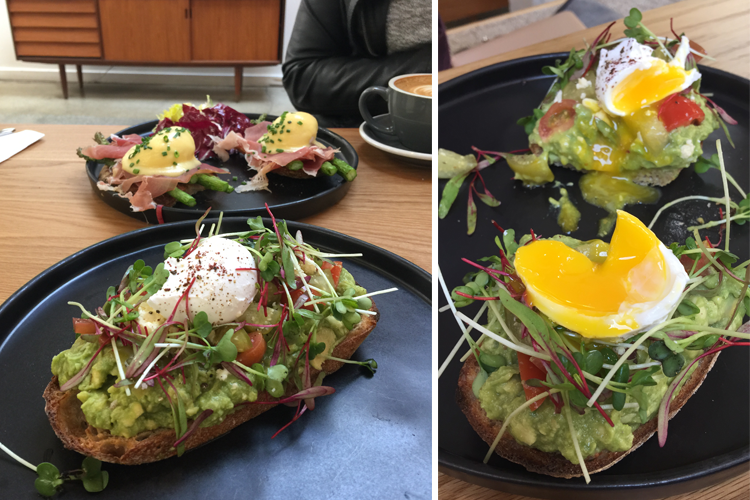 vive la tarte Avocado toast in San Francisco Bay Area