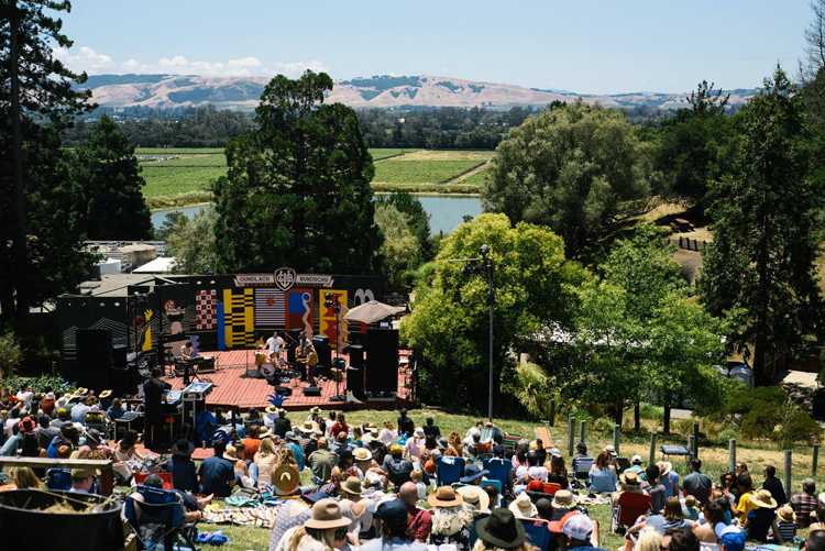 Huichica Sonoma Valley 2018 San Francisco Bay Area Music Festivals