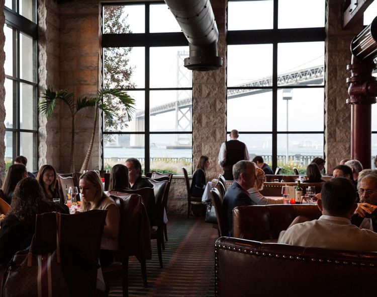 EPIC Steak San Francisco restaurant with a view