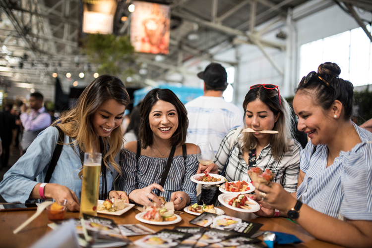 Eat Drink SF 2018 food festival in San Francisco California
