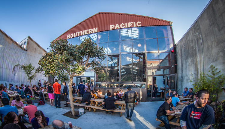 Southern Pacific Brewing San Francisco, California brewpub