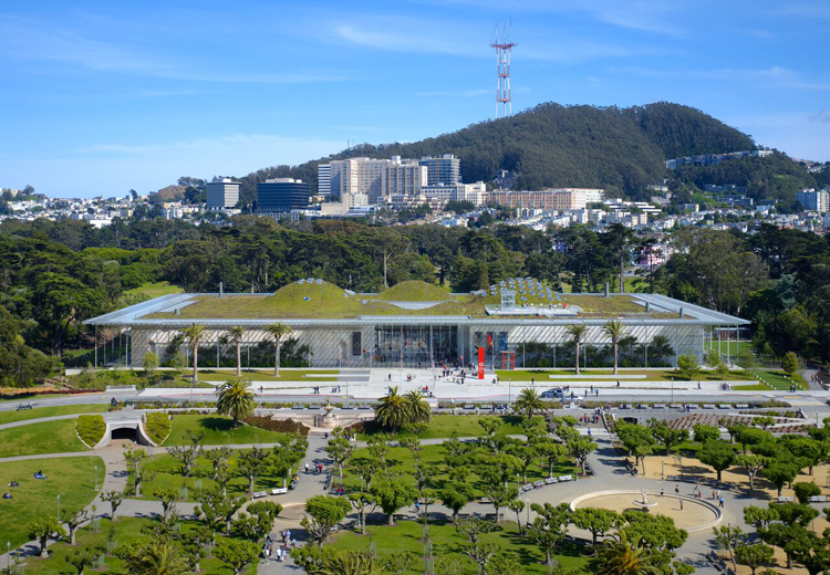 California Academy of Sciences free museum admission San Francisco
