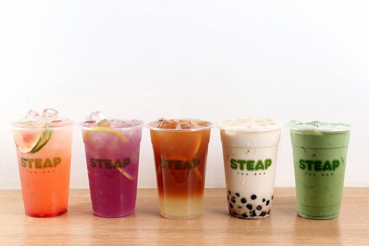 Steap San Francisco milk tea boba tea bubble tea