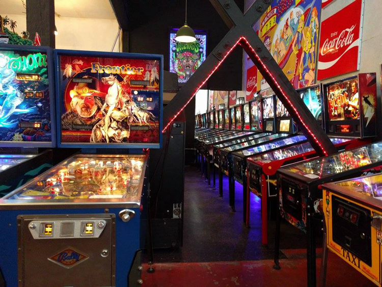 Free Gold Watch arcade and screen printing San Francisco California things to do