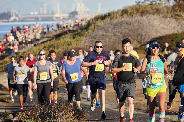 510k race in Oakland California Fall 2018