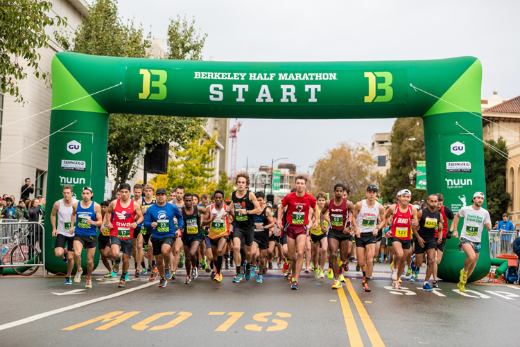 Berkeley Half Marathon California races fall 2018