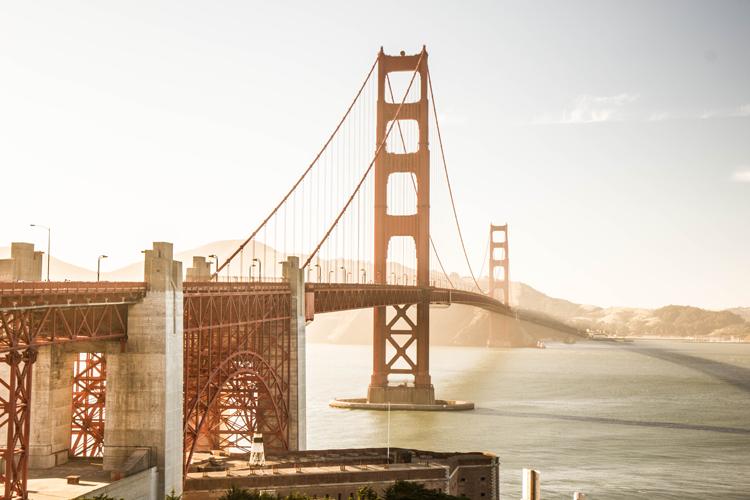 The Presidio Golden Gate Bridge San Francisco California what to do in one day