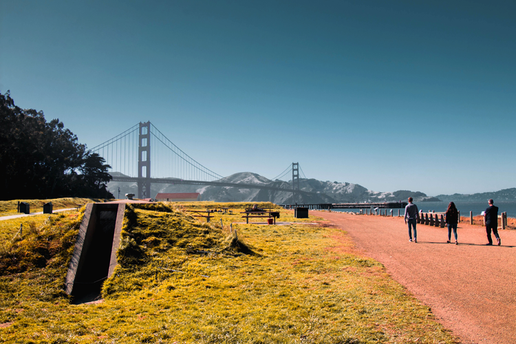 hikes in The Presidio San Francisco
