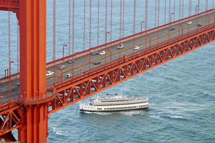 Golden Gate Ferry Sausalito, California