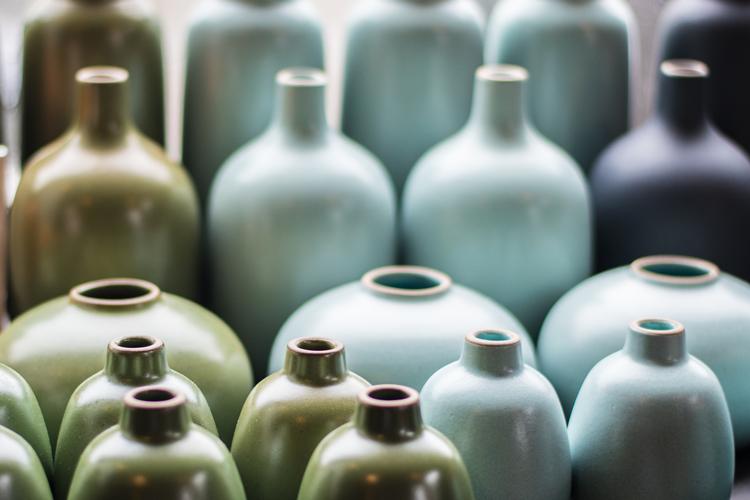Heath Ceramics art A day in Sausalito California