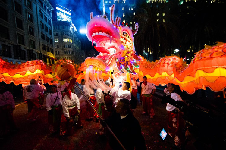 Chinese New Year Parade San Francisco