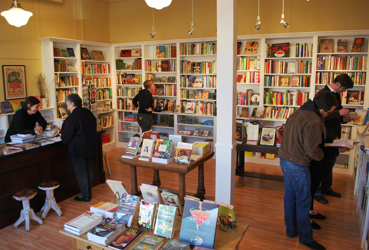 Omnivore Books indie bookstores in San Francisco