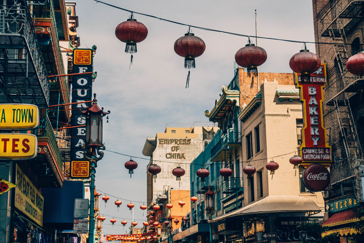 Chinatown San Francisco history landmarks