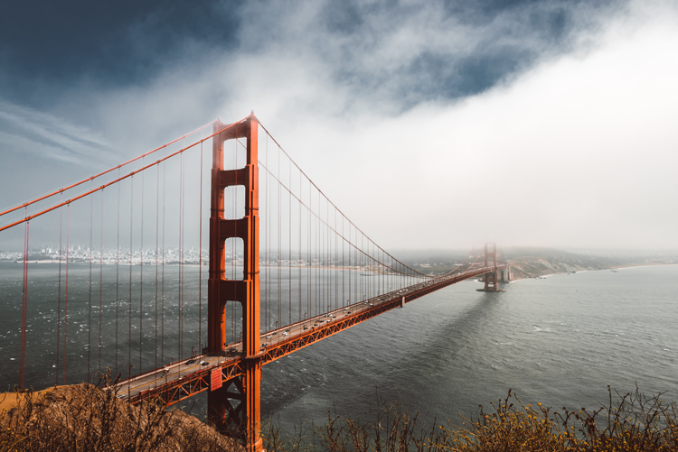 Golden Gate Bridge San Francisco history landmarks