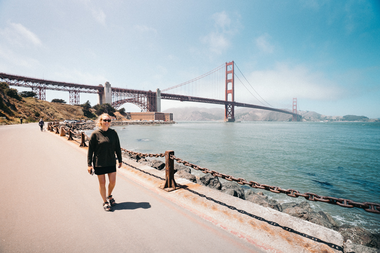 Presidio San Francisco history landmarks