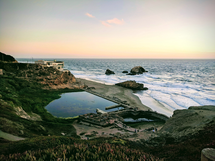 Sutro Baths San Francisco history landmarks