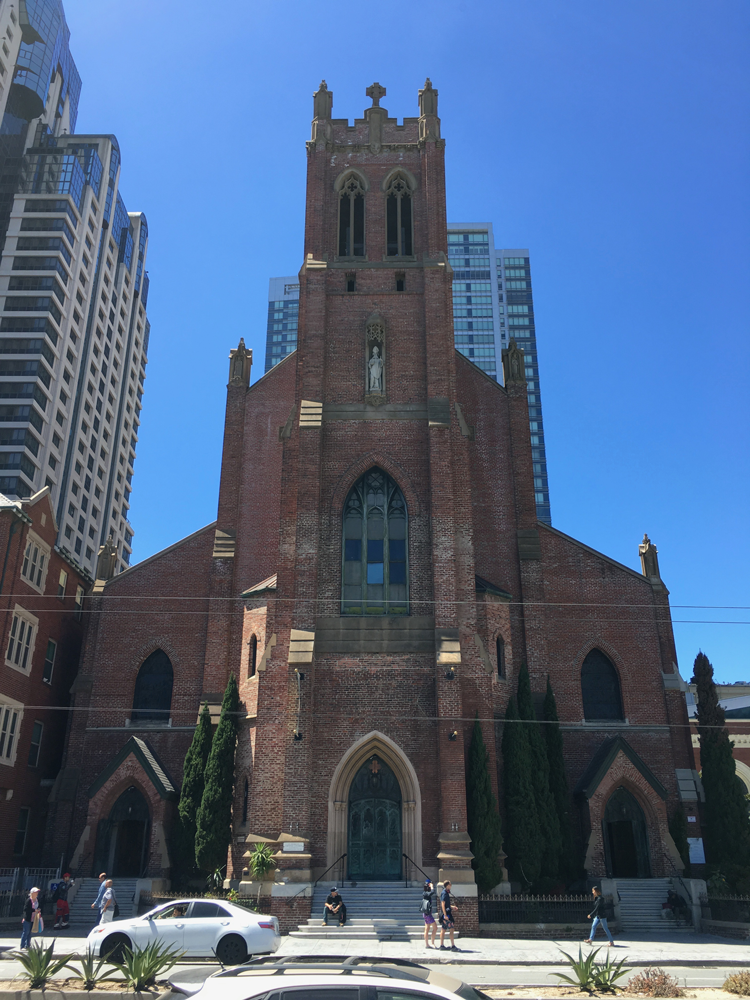St Patrick Church San Francisco history landmarks