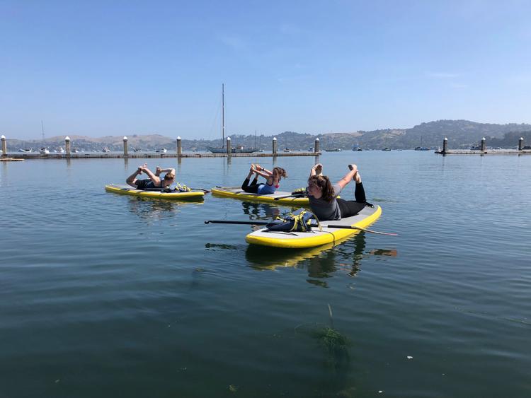 OnBoardSUP Sausalito stand up paddleboard