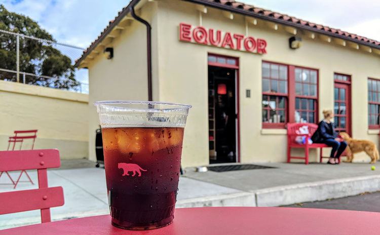 Equator best cold brew in San Francisco
