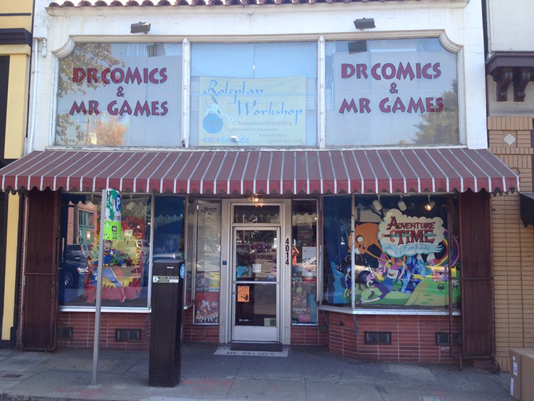 Comic Book Stores Bay Area