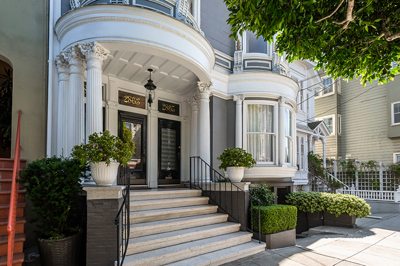 2863 Washington Street, San Francisco |  Robert Callan Jr. & Barbara Callan - McGuire Real Estate