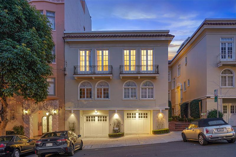 2154 Leavenworth Street, San Francisco | Joseph Gartland Moore & Leslie de Bretteville - McGuire Real Estate