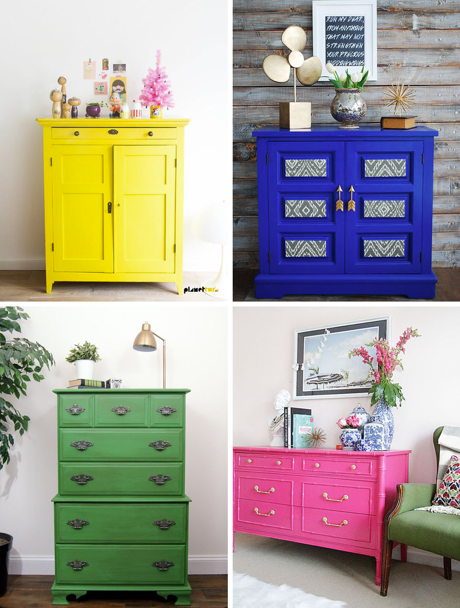Charmant Bright Painted Furniture