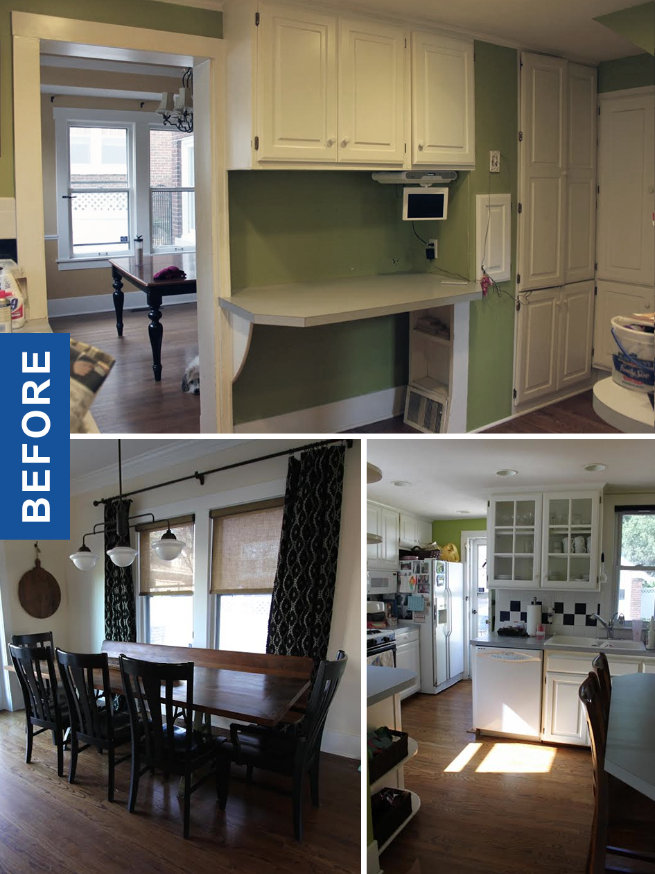 Before and After Kitchen Renovation