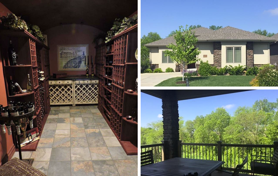 Omaha Area Homes With Wine Cellars