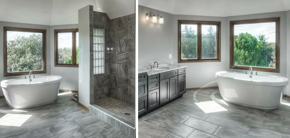 Omaha Homes with Luxury Master Baths