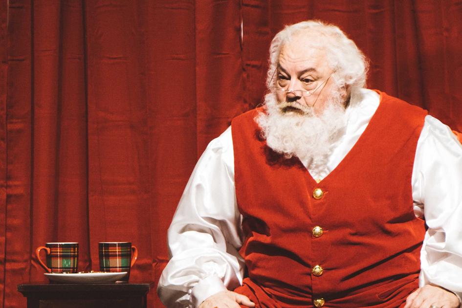 Santa in Omaha