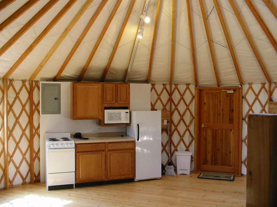 Madison County Yurt
