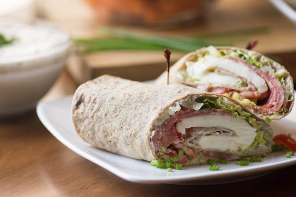 Stirlist Nebraska Food Blogger Healthy Sandwich Wrap