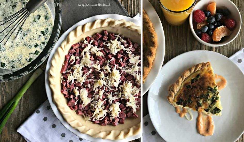 An Affair From the Heart Nebraska Food Blogger Reuben Quiche Recipe
