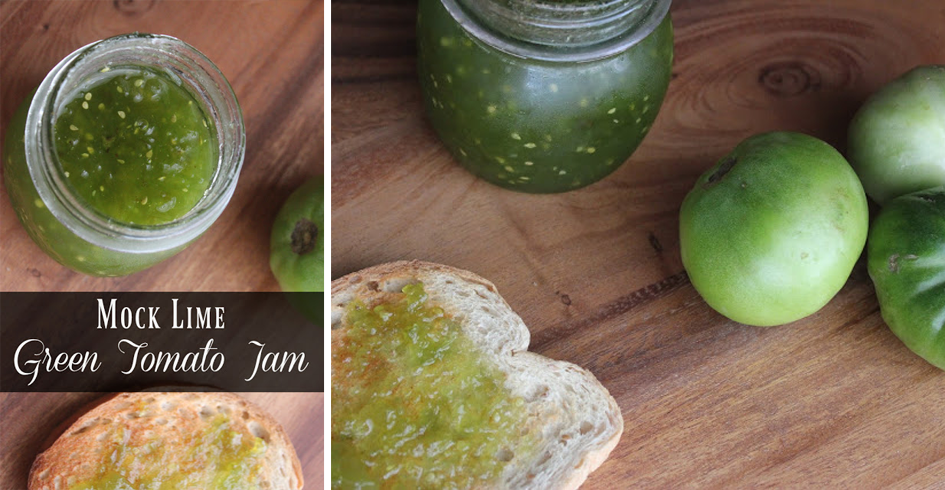 Green Tomato Lime Homemade Jelly Recipe