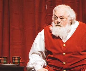 Santa in Lincoln