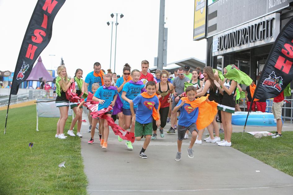 Superhero Heart Run Omaha