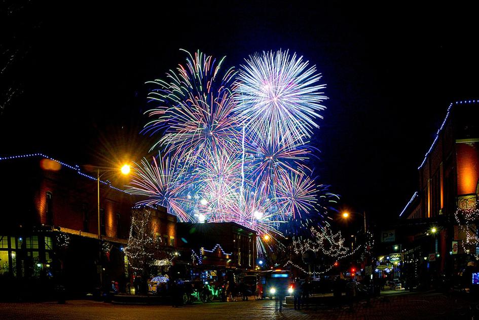 NYE Omaha Fireworks