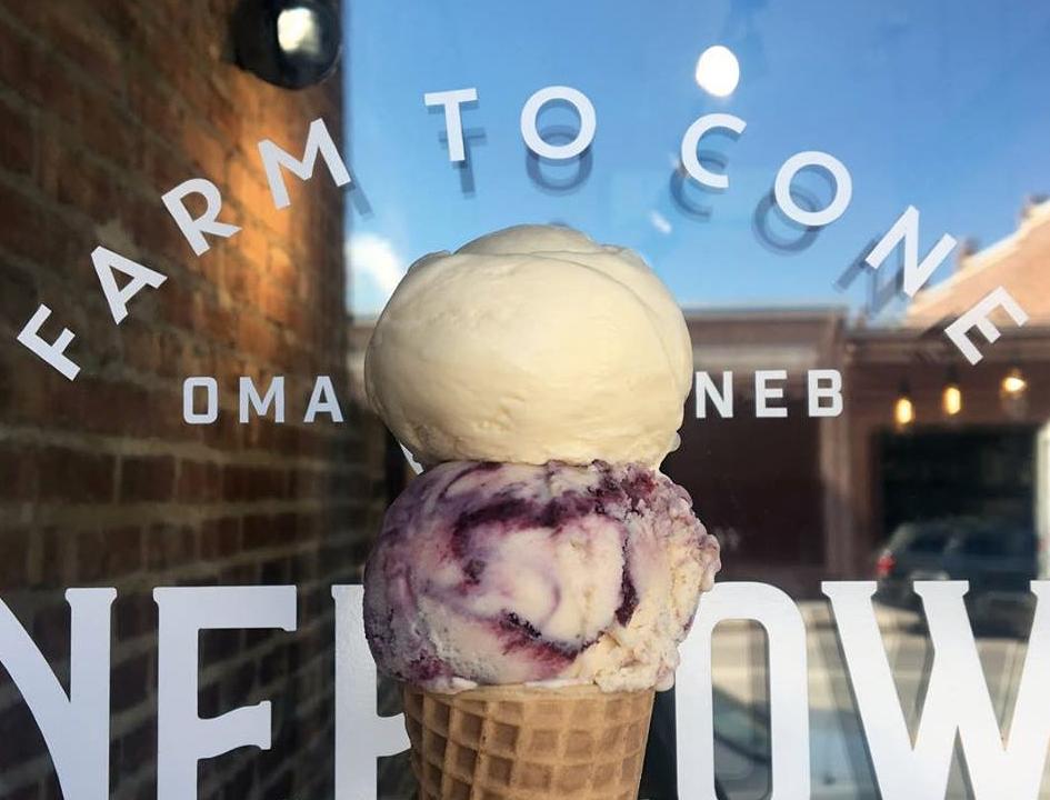 Coneflower Creamery | Omaha Kid-Friendly Restaurants