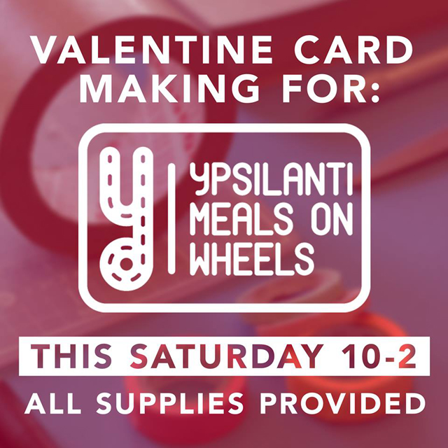Ypsilanti Meal on Meals Valentines Card