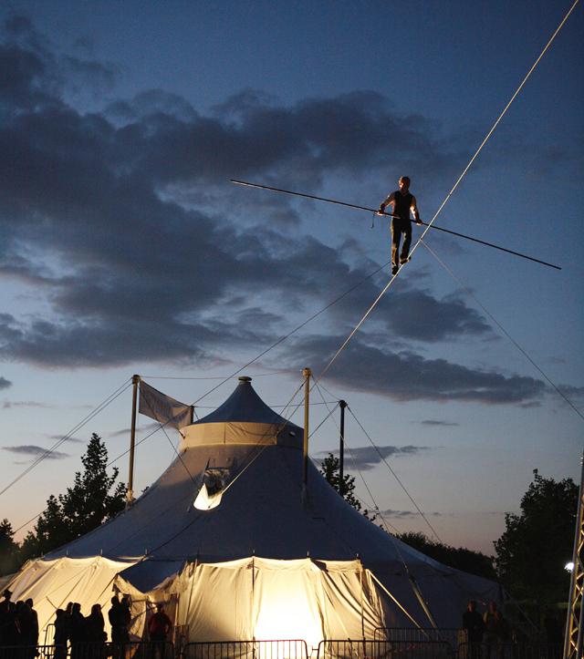"""""""L'Homme Cirque"""" par David Dimitri au festival Jeux de Piste 2007"""