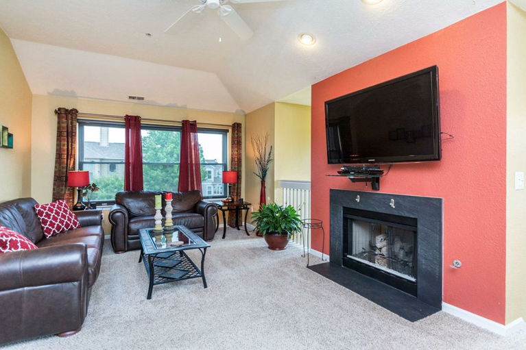 1708 Coburn Court - Living Room