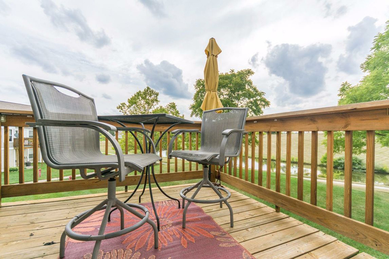 1708 Coburn Court - Deck