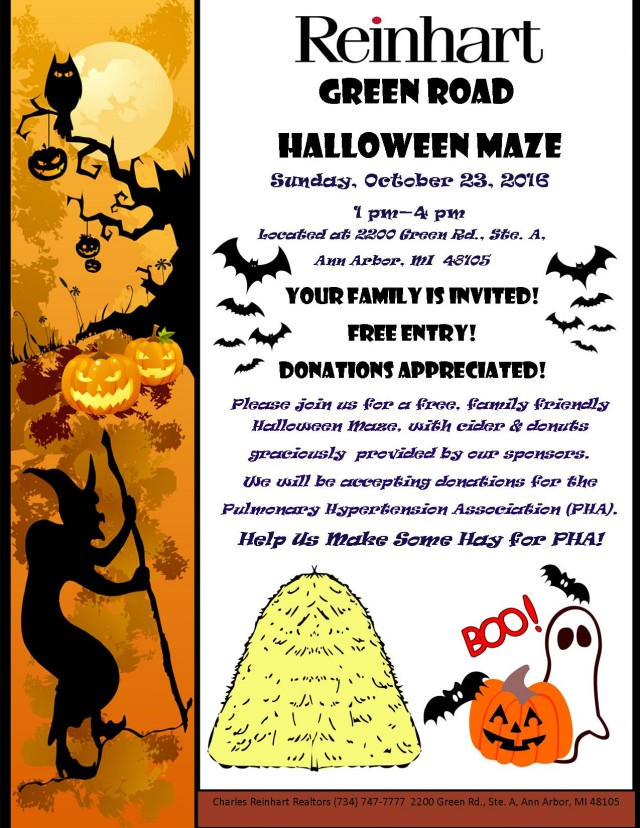 2016 Halloween flier - Donation File