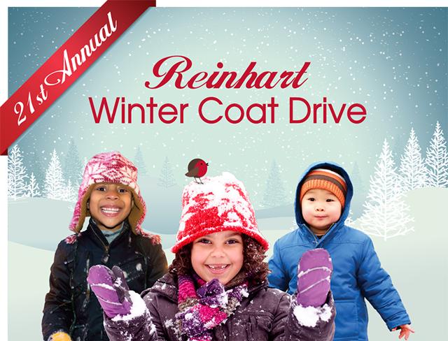 Reinhart Coat Drive