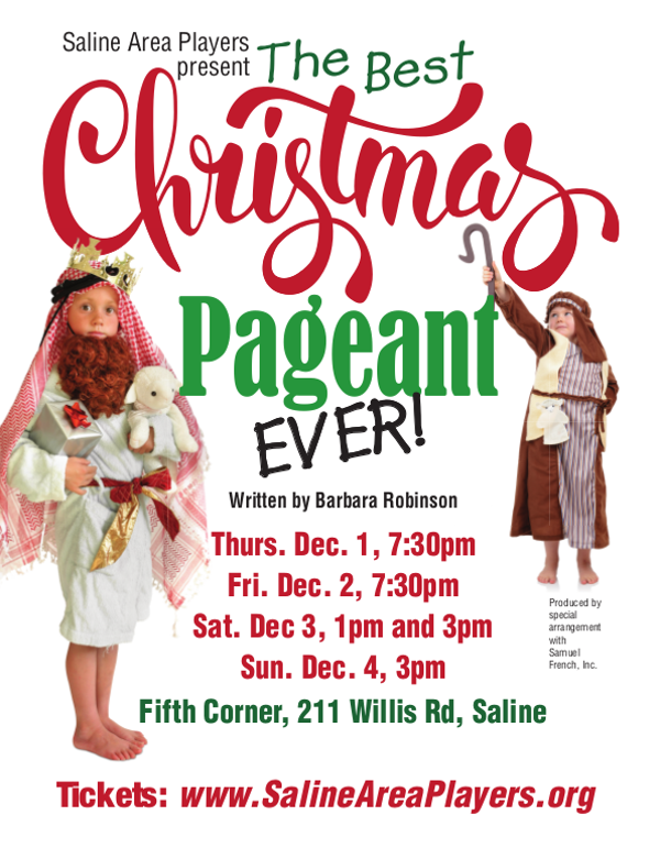 The Best Christmas Pageant Event