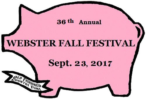 webster fall feestival