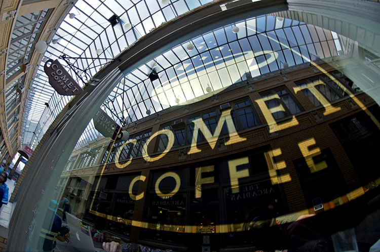 Comet Coffee Ann Arbor Michigan coffee shops roasters