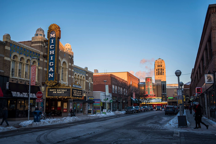 The Michigan Theater Ann Arbor date night ideas